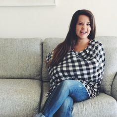 Lightweight Jersey Flannel Nursing Poncho / by MilkmaidGoods