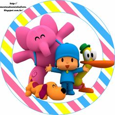 Riding my party: Pocoyo Party Kit, Baby Party, Leo Birthday, Happy Birthday Parties, Oh My Fiesta, Masha And The Bear, Party Printables, Birthday Decorations, Holidays And Events