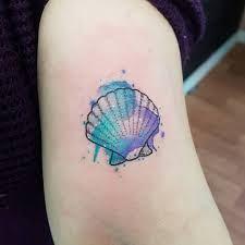 Resultado de imagem para tatuagem de concha