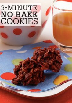 This 3-Minute, No-Bake Cookie recipe from Quaker® is the perfect dessert to keep on hand to satisfy your family's sweet-tooth cravings!