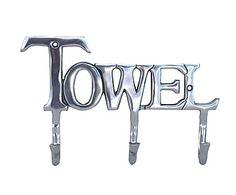 Colgador de aluminio Towel - plateado