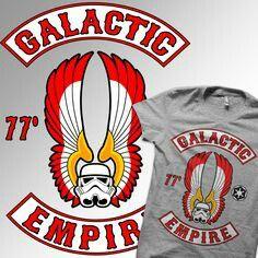 Winged stormtrooper helmet