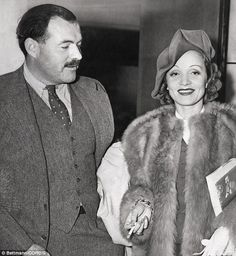 'I love you as always', #DailyMail quotes Hemingway's letter to Marlene.