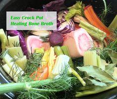 Easy Crock Pot Bone Broth