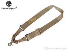 2016 Tactical Combat 1 Point Bungee Sling Strap System Tactical Single Adjustable Tan Bk Od High Quality Outdoor Gear From Emerson_gear, $3.0 | Dhgate.Com Tactical Accessories, Gear 3, Outdoor Gear, Personalized Items, Outdoor Tools