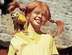Pippi Longstocking, fictional character from book written by Astrid Lindgren. Nostalgia, Pippi Longstocking, Freckle Face, The Good Old Days, Hollywood Stars, Back In The Day, Photos, Pictures, Movies And Tv Shows