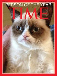 Grumpy Cat for Person of the Year!