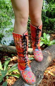 anja boot, cotton, beauti hmong, colors, buy cloth, stylefashion favorit, fair trade, shoe, boots