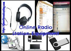 Online Radio Station Equipment | Online Radio DJ