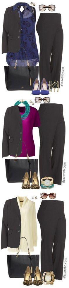 Plus Size Professional Looks - Plus Size Work Outfits - alexawebb.com