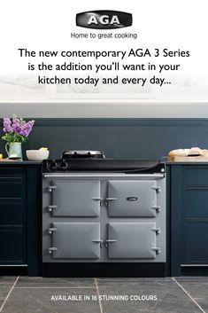 The new electric cast-iron AGA 3 Series Radiant heat cooking and iconic design as standard. Aga Kitchen, Kitchen Units, Kitchen Ideas, Country Living, Country Style, Electric Aga, Aga Cooker, Extension Designs, Kitchen Utilities