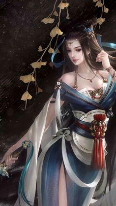 Super Ideas For Anime Art Warrior Draw Chica Fantasy, 3d Fantasy, Fantasy Images, Fantasy Women, Anime Fantasy, Fantasy Girl, Fantasy Artwork, Fantasy Princess, Beautiful Fantasy Art