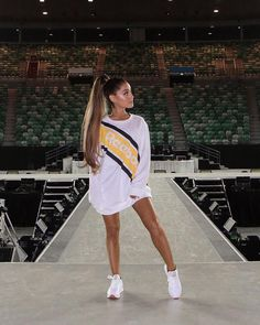 """130.8k Likes, 4,025 Comments - Reebok (@reebok) on Instagram: """"Bold. Confident. Defiant.From the styles she wears to the sweat that she drips, @ArianaGrande is…"""""""