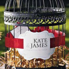#Birdcage for envelope gifts