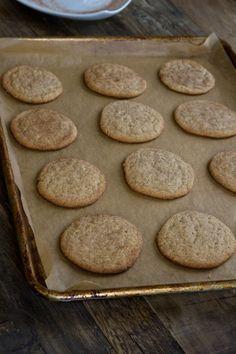 Brown Butter Gluten Free Snickerdoodles. ☀CQ #glutenfree #sweets