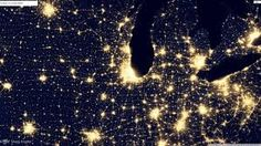 new nasa images show the earth s electric light show nasa and lights
