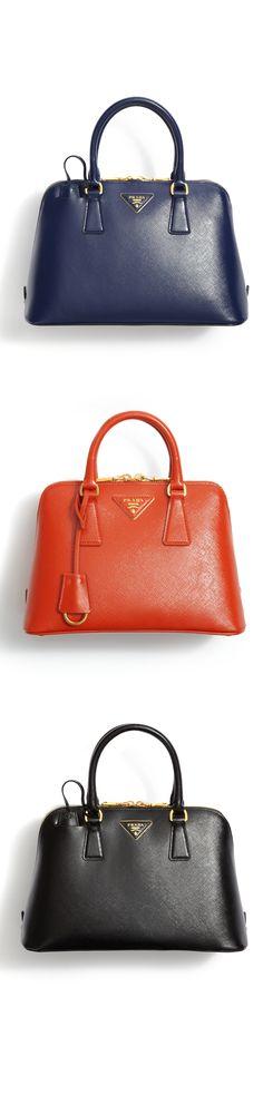 The Classic Saffiano Prada bag.