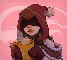Coldsnap Seris and some hot cocoa by Pizdoglazka : Paladins Paladins Champions, Game Art, Final Fantasy, Drawings, Videogames, Random Stuff, Anime, Fanart, Pictures