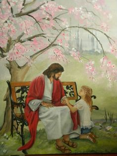 This was a commissioned piece. A young lady with Cerebral Palsy wanted a photo of herself meeting Jesus Out of her Wheelchair. In the background is the Mormon Temple of Wash DC located in Kensington, MD