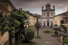 Sacro Monte di Varallo, Piazza della Basilica - Piedmont, Italy (by Lucille-bs)