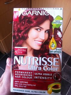 Garnier Red Hair Dye 6 60 For Dark I Love This It Works Great
