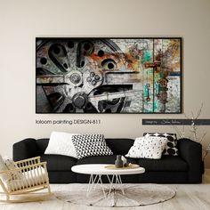 painting DESIGN-811 #art #painter #loloom #ζωγράφος #πίνακας #loloomtextile…