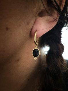 bijoux cadeaux femme Cr/éoles avec pendentif et pierres Cr/éoles acier inoxydable Boucles d/'oreilles cr/éoles dor/ées Bijoux dor/és id/ée cadeau Anneaux dor/és