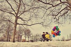 color, amusement parks, balloon pop