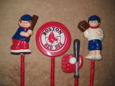 1 Dog Safe Chocolate Gourmet Boston Red Sox Baseball Sports Bat rawhide lollipop #CastleRockChocolatier