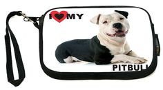 UKBK My Best Friend is a Brown Pitbull Dog - Neoprene Clutch Wristlet with Safety Closure - Ideal case for Camera, Cell Phone, Gameboy, Passport, Cosmetics case, Universal Cell Phone Case etc.. *** Click on the image for additional details.