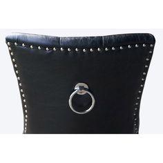 Cornwall matstol bonded leather svart | Matstolar - Stolar | Ch