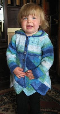 Sixties Spirit: Toddler's Domino Hooded Jacket