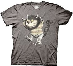 Where the Wild Things Are Wild Thing Charcoal T-shirt (Adult Small) Where The Wild Things Are http://www.amazon.com/dp/B00210FFX4/ref=cm_sw_r_pi_dp_Jt7twb0V33TQ3