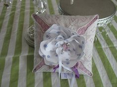 RudyLavender Lily of the Valley Fabric and Vintage by fancibags, $50.00