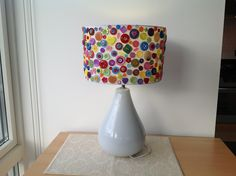My Button Lamp Shade