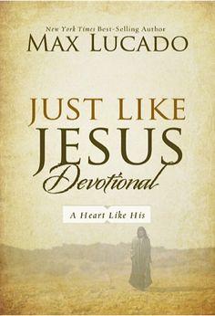 Just Like Jesus Devotional eBook Sale by Max Lucado: $2.99!