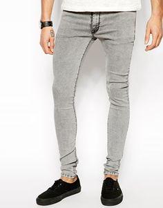 Enlarge ASOS Extreme Super Skinny Jean In Heavy Wash