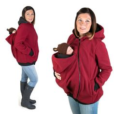 Winter Women Baby Carrier Jacket Kangaroo hoodie Maternity Outerwear for Pregnant Thickened Pregnancy Baby Wearing Coat Maternity Kangaroo baby pocket Hoodie with Babies Carrier Women front carrier Hoodie Sweatshirts, Baby Hoodies, Winter Coats Women, Coats For Women, Clothes For Pregnant Women, Clothes For Women, Pregnant Baby, Pregnant Mother, Pregnant Tips