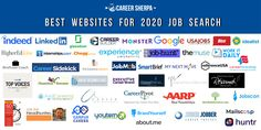 Looking for a new job means you'll want to use the best websites for your 2020 job search. This comprehensive list addresses everything you'll need. Job Search Websites, Online Job Search, Executive Job Search, Executive Resume, Career Help, Career Advice, Job Interview Preparation, Resume Writer, Job Posting