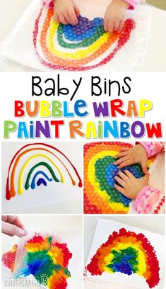 rainbow toddler crafts ~ crafts rainbow & crafts rainbow kids & crafts rainbow colors & crafts rainbow loom & rainbow crafts for kids & rainbow crafts preschool & rainbow crafts for toddlers & rainbow toddler crafts Rainbow Activities, Toddler Learning Activities, Spring Activities, Infant Activities, Color Activities For Toddlers, Learning Games, All About Me Activities Eyfs, Baby Room Activities, Kids Learning