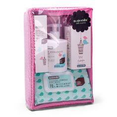 Cesta cosmética para el bebé rosa #Suavinex