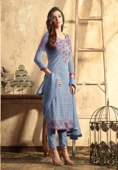 Latest magenta and light yellow color cotton salwar suit online ...