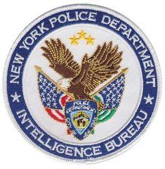NEW YORK Police patch (INTELLIGENCE BUREAU) | eBay