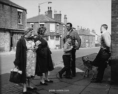 Scene on a street corner - Bolton, Lancashire