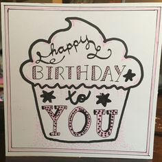 Happy birthday to you - card - Handmade by me