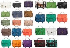 Proenza Schouler - I want one! But what color???