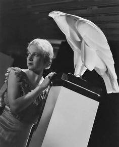 Art Deco in the movies Art Deco, Art Nouveau, Ann Harding, Bird Sculpture, Bird Design, Best Actress, New Media, Golden Age, Cinema