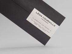 Léon Courville Vigneron stationery by lg2boutique.