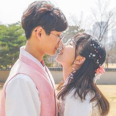 Ulzzang couple discovered by oh hani on we heart it Cute Couples Goals, Couples In Love, Romantic Couples, Girl Couple, Sweet Couple, Ulzzang Couple, Ulzzang Girl, Cute Korean, Korean Girl