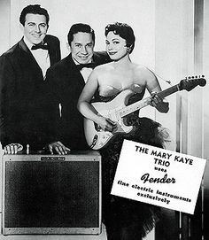 """Fender is saddened to learn of the Feb. 17 passing of the """"first lady of rock 'n' roll"""" ... Fender Electric Guitar, Fender Stratocaster, Fender Guitars, Easy Guitar, Cool Guitar, Les Paul, Guitar Girl, Blue Guitar, Old Advertisements"""
